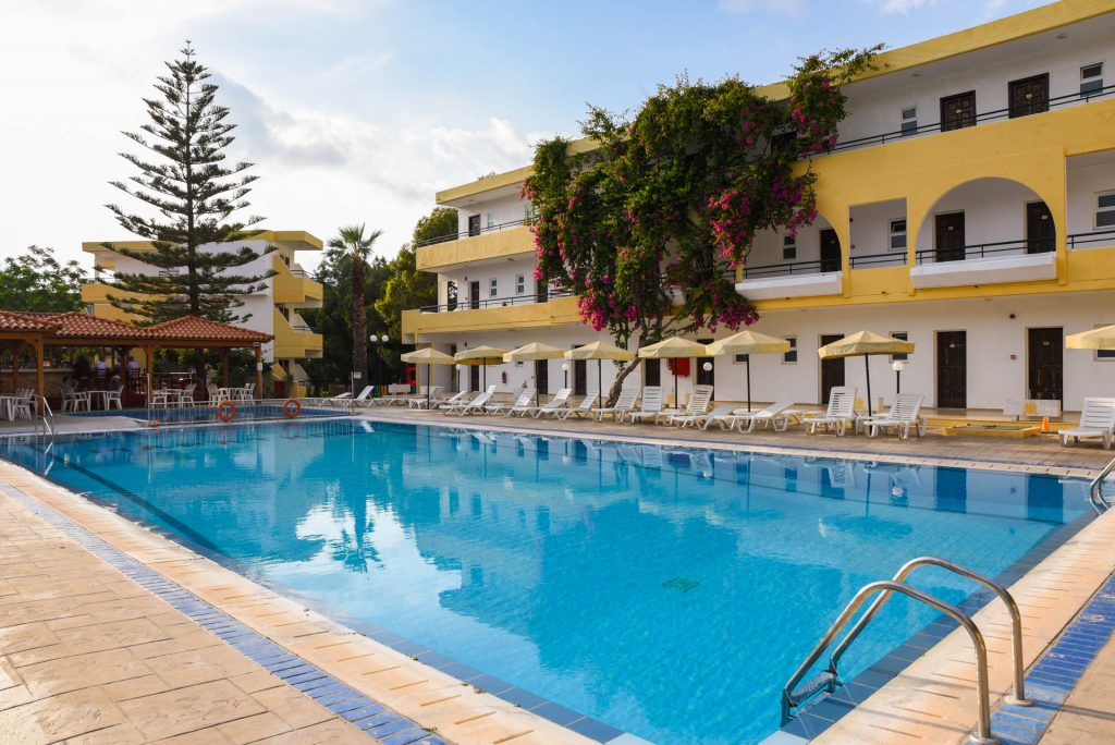 Lutania Beach Hotel Kolymbia Rhodes