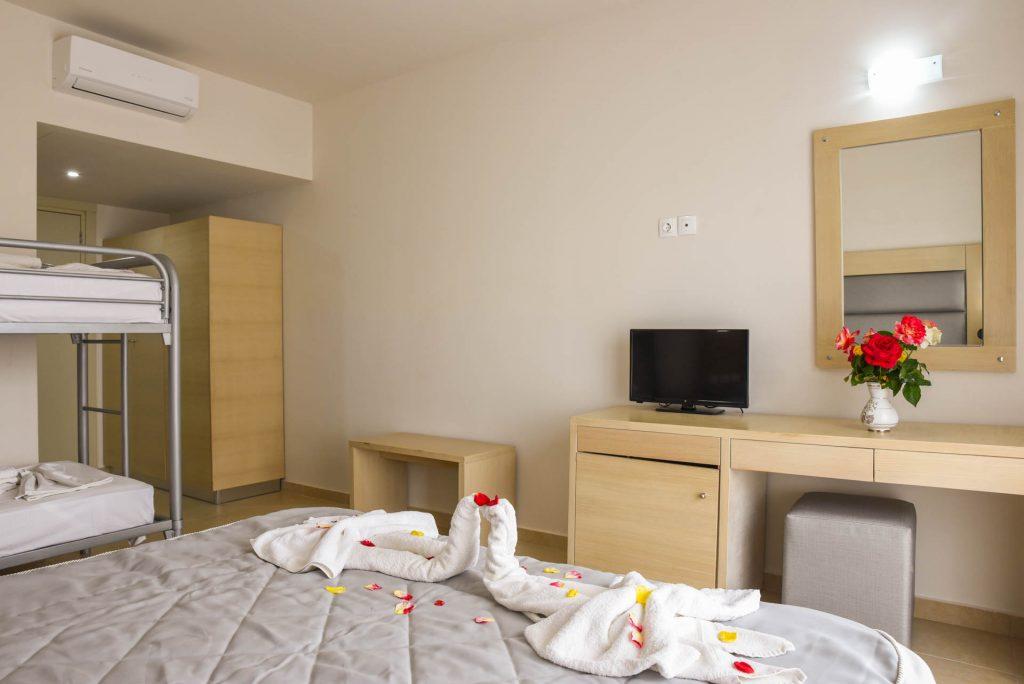 Family Bunk Bed Superior Marathon Hotel Kolympia Rhodes